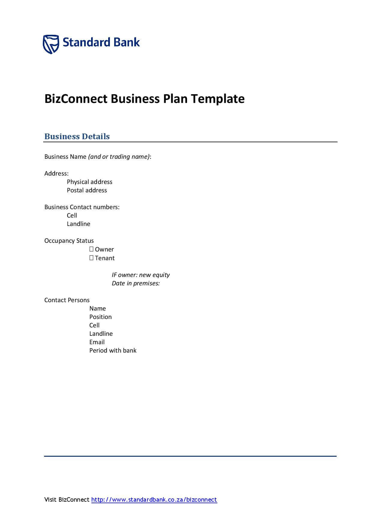 Download a free business plan template formfactory search friedricerecipe Choice Image
